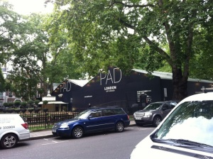 PAD Art and Design Fair on Berkeley Square